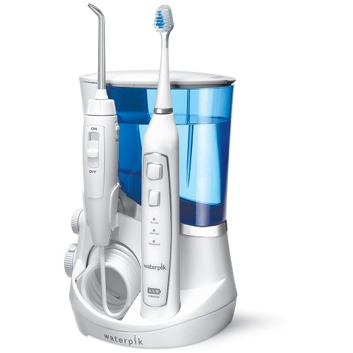 WATERPIK WP-861W IRRIGADOR + CEPILLO SONICO