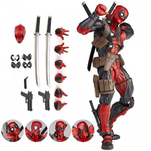 Muñeco PVC Deadpool articulado- Action Figure