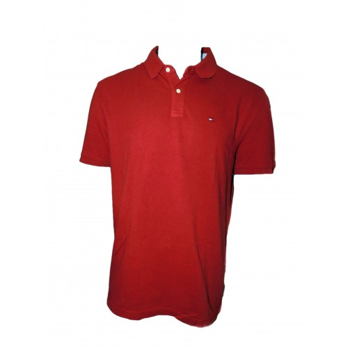 Polo maca Tommy Hilfigher Rojo