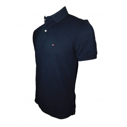 Polo maca Tommy Hilfigher Negro