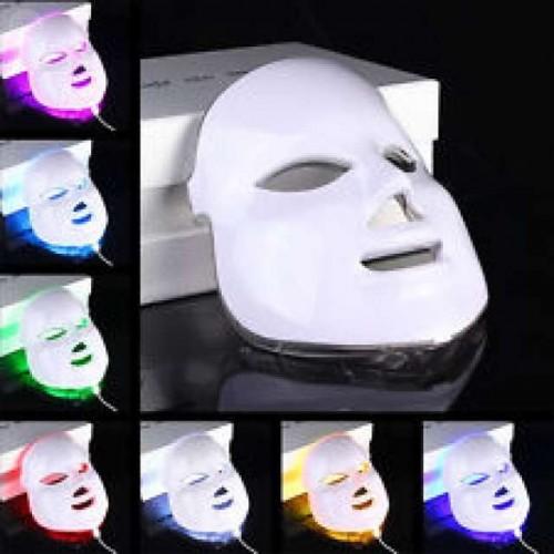 Mascara Fotóterapia Facial Led 7 Colores Rejuvenecimiento