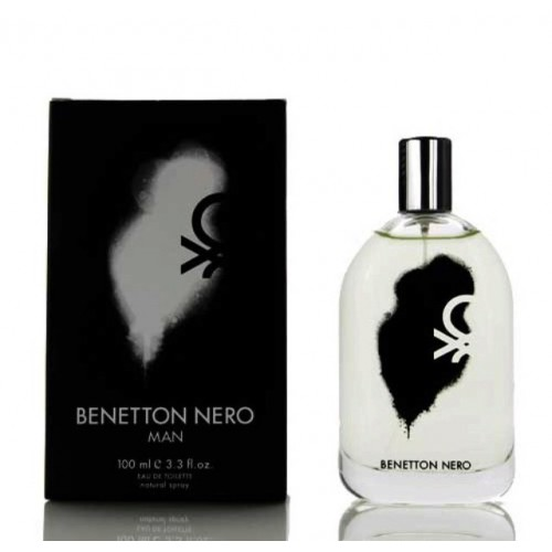 Colonia Bennetton - Nero Man New