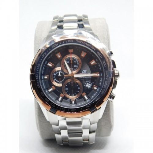 Reloj para hombre marca Casio Edifice EF-539D-1A2V Bisel Cobre