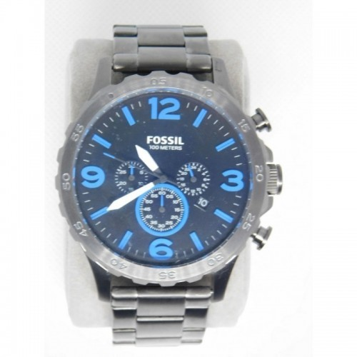 Reloj para hombre marca Fossil Stainless steel Negro