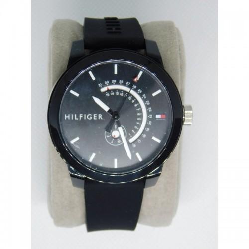 Reloj para hombre marca Tommy Negro doble calendario