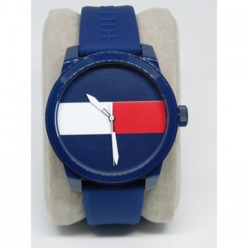 Reloj para hombre marca Tommy Azul logo Tommy