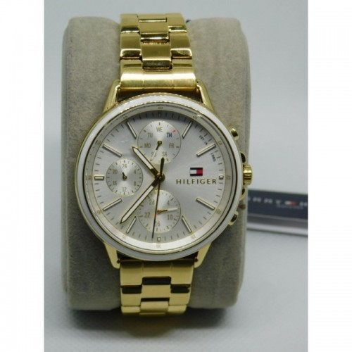 Reloj para dama marca Tommy Dordo fondo Blanco